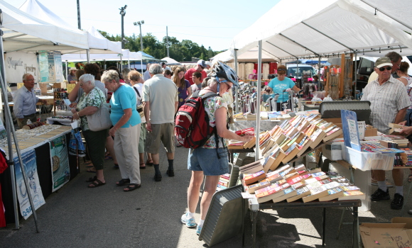 Over 50 Vendors at the Beach Market