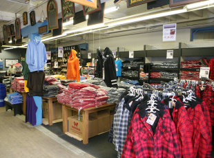 Clothing Section