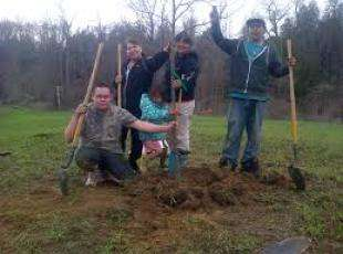 Saugeen RED Tree, Forest and Community garden Program