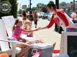 Canada Day 2014 downtown Port Elgin