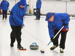 Learning at the curling clinic