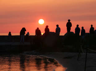 Port Elgin Sunset Viewing Points & Sunset Photography